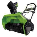 "GREENWORKS 40V GMAX 20"" SNOW THROWER - TOOL ONLY (SKU: 2601102)"