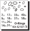 RM Series O-Ring Kit