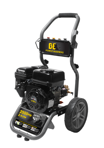 2500 PSI, 2.4 GPM PRESSURE WASHER MODEL BE256RA