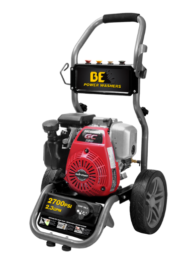 2800 PSI, 2.5 GPM PRESSURE WASHER MODEL BE286HA
