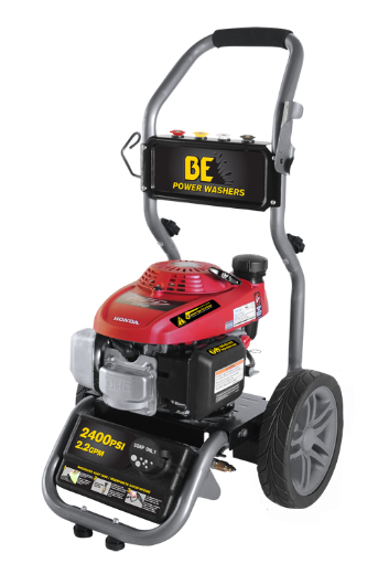 2400 PSI, 2.2 GPM PRESSURE WASHER MODEL BEVR-2455HWX