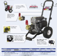 2700 PSI Pressure Washer (SKU: PE-2760HWX)