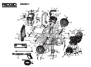 Ridgid RD80971  Pressure Washer Replacement Parts