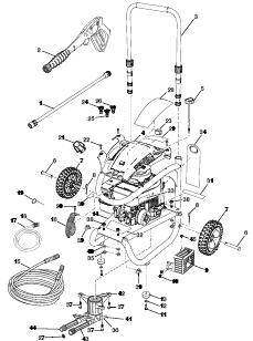 Husky HU80931 POWER Washer Replacement Parts