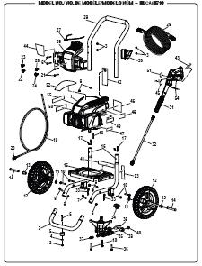 WorkForce WF80710 POWER Washer Replacement Parts