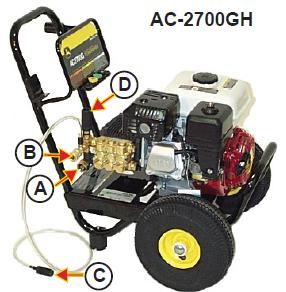 AC-2700GH Parts, pump, repair kit, breakdown.