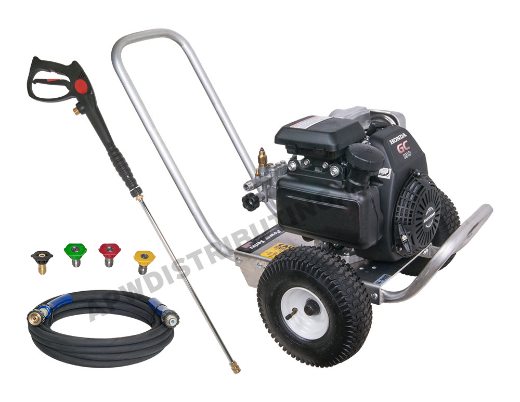 3,000 PSI @ 2.5 GPM PRESSURE WASHER WITH HONDA ENGINE