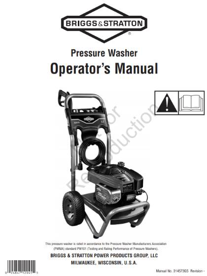 Pressure washer replacement parts & repair kits for Excell