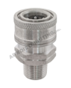 "Coupler 3/8"" MPT SS"