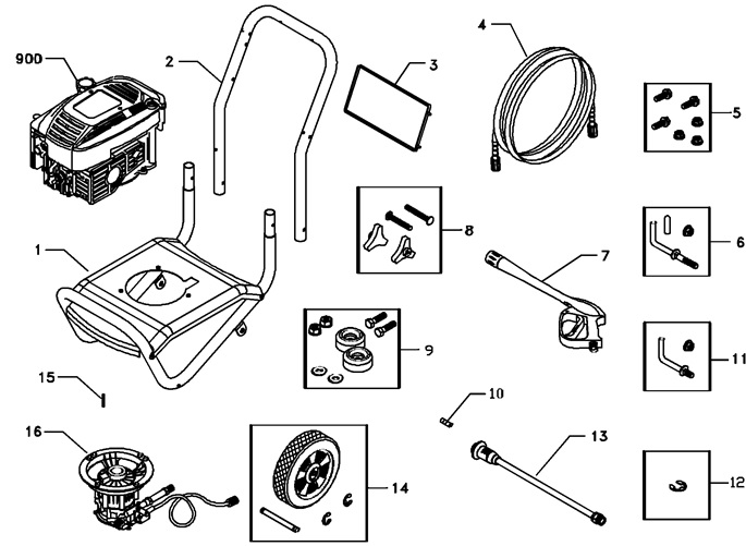 NEED HELP? 1-888-279-9274 Troy bilt power washer model 1902 replacement parts & pump repair kits for 1902 Troy bilt