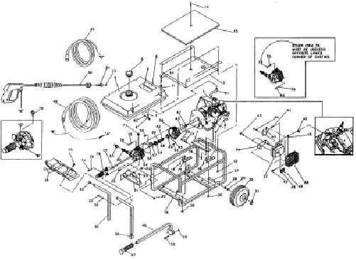sears/craftsman pressure washer model 580751781 breakdown