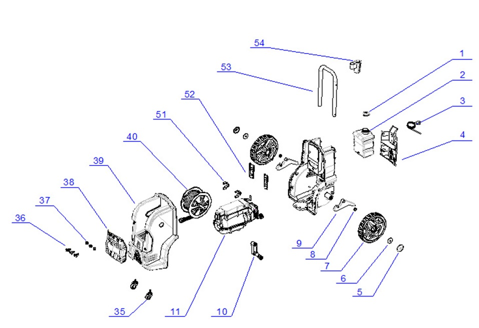 Snap-on 692024 Pressure Washer Replacement Parts and manual