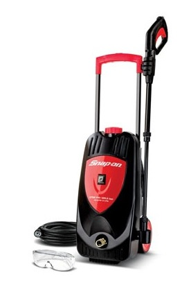 Snap-on pressure washers combine the most advanced features with the performance and durability expected of Snap-on. Perfect for small to medium cleaning jobs, the Snap-on Electric Pressure Washer generates 1,750 PSI of water pressure and offers adjustable flow and spray pattern, making it ideal for cleaning RV's, motorcycles, ATVs, boats, trailers, decks, barbeques, siding and more.