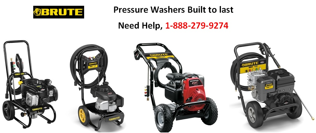 Brute pressure washer replacement parts, sales support and help line 1-888-279-9274