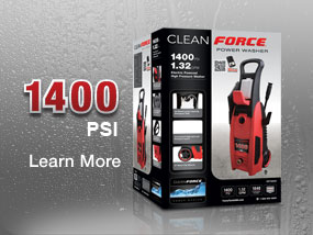 Cleanforce CF1400 Pressure Washer