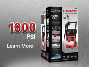 Cleanforce CF1800 Pressure Washer