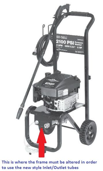Devilbiss Excell Pressure Washer Exwgv2121 Parts Breakdown