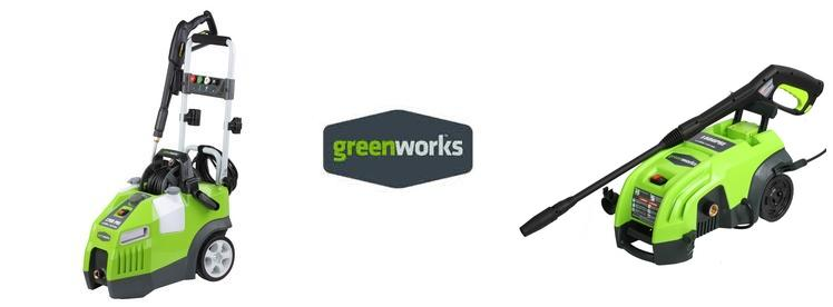 GreenWorks  Electric Pressure Washer replacement parts & Owners Manual