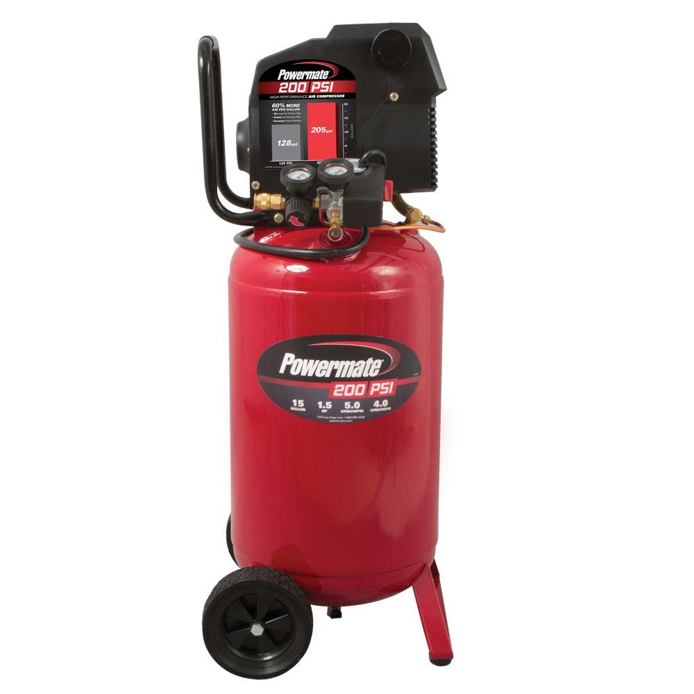 POWERMATE PLD1581519 Air Compressor Parts & Manual