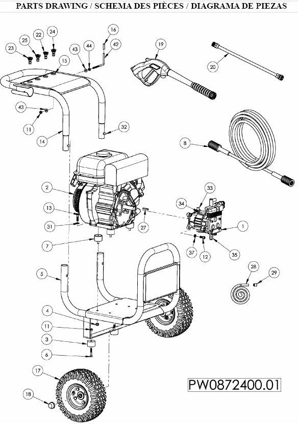 coleman powermate pressure washer model pw0872400 01 parts kits rh ppe pressure washer parts com Coleman Powermate Pressure Washer Pw0912201 coleman powermate 2750 pressure washer owners manual