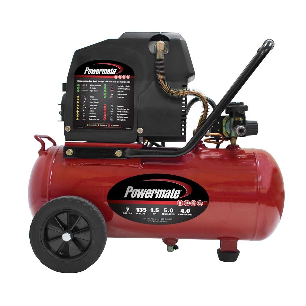 POWERMATE VPP1580719 Air Compressor Parts & Manual