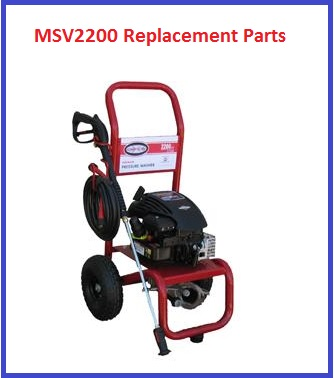 SIMPSON MSV2200 REPLACEMENT PARTS