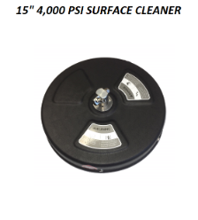 "15"" VORTEX SURFACE CLEANER, FREE SHIPPING"
