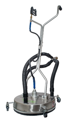 "21"" SURFACE CLEANER WITH VACUUM PORT by VORTEX"
