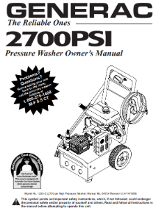 1293-2 Owners Manual