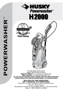 H2000 Owners Manual