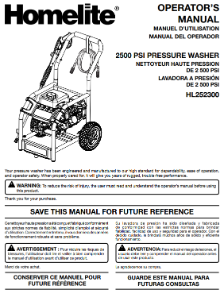 PS80522 Owners Manual