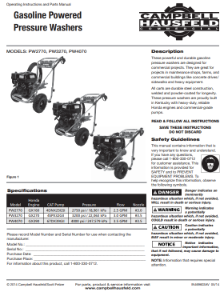PW3270 Owners Manual