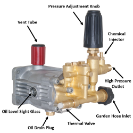 Pressure washer upgrade replacement pump with 2 Year Warranty.