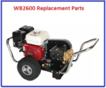 WB2600 Simpson Pressure Washer Replacement Parts