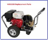 WB3200 Simpson Pressure Washer Replacement Parts
