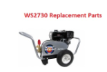 Water Shotgun WS2730 Simpson Pressure Washer Parts Page