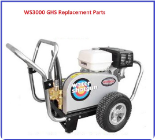 WS3000 GHS Simpson Pressure Washer Replacement Parts Page