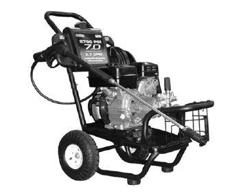 Campbell Hausfeld PW2705H3LE pressure washer parts