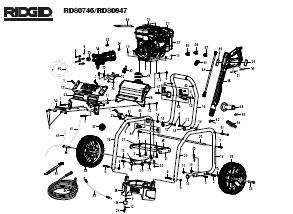 RIDGID RD80746 Pressure Washer Replacement Parts